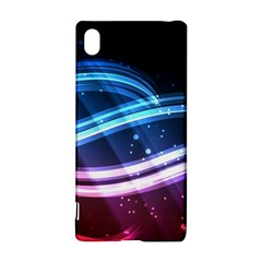 Illustrations Color Purple Blue Circle Space Sony Xperia Z3+ by Alisyart