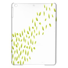 Leaves Leaf Green Fly Landing Ipad Air Hardshell Cases by Alisyart
