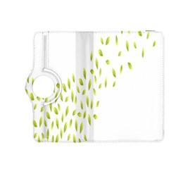 Leaves Leaf Green Fly Landing Kindle Fire Hdx 8 9  Flip 360 Case by Alisyart