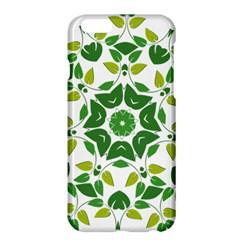 Leaf Green Frame Star Apple Iphone 6 Plus/6s Plus Hardshell Case by Alisyart