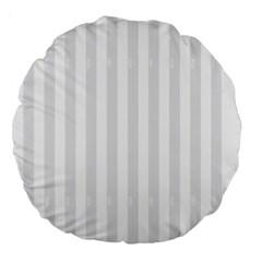 Main Field Football Sport Gray Large 18  Premium Round Cushions by Alisyart