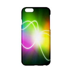 Lines Wavy Ight Color Rainbow Colorful Apple Iphone 6/6s Hardshell Case by Alisyart