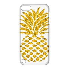 Pineapple Glitter Gold Yellow Fruit Apple iPod Touch 5 Hardshell Case with Stand by Alisyart