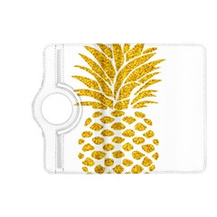 Pineapple Glitter Gold Yellow Fruit Kindle Fire Hd (2013) Flip 360 Case by Alisyart