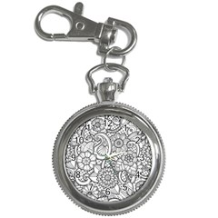 These Flowers Need Colour! Key Chain Watches by Simbadda