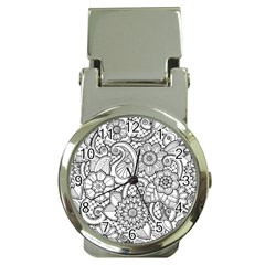 These Flowers Need Colour! Money Clip Watches by Simbadda