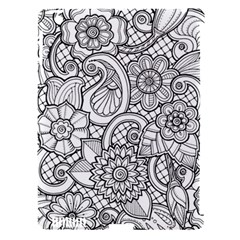 These Flowers Need Colour! Apple Ipad 3/4 Hardshell Case (compatible With Smart Cover) by Simbadda