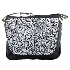 These Flowers Need Colour! Messenger Bags by Simbadda