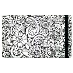 These Flowers Need Colour! Apple Ipad 2 Flip Case by Simbadda