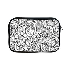 These Flowers Need Colour! Apple Ipad Mini Zipper Cases by Simbadda