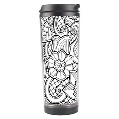 These Flowers Need Colour! Travel Tumbler by Simbadda