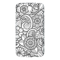 These Flowers Need Colour! Samsung Galaxy Mega I9200 Hardshell Back Case