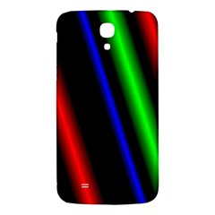 Multi Color Neon Background Samsung Galaxy Mega I9200 Hardshell Back Case