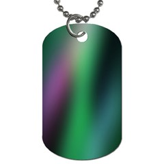 Course Gradient Color Pattern Dog Tag (one Side) by Simbadda