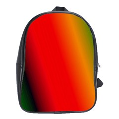 Multi Color Pattern Background School Bags (xl)  by Simbadda