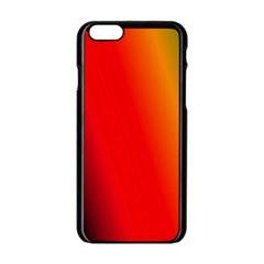 Multi Color Pattern Background Apple Iphone 6/6s Black Enamel Case by Simbadda