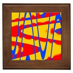 Graphic Design Graphic Design Framed Tiles