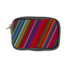 Color Stripes Pattern Coin Purse by Simbadda