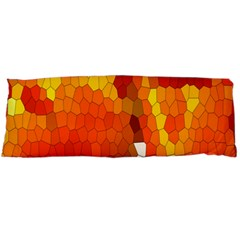 Mosaic Glass Colorful Color Body Pillow Case Dakimakura (two Sides) by Simbadda