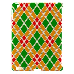 Colorful Color Pattern Diamonds Apple Ipad 3/4 Hardshell Case (compatible With Smart Cover) by Simbadda