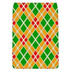Colorful Color Pattern Diamonds Flap Covers (l)  by Simbadda