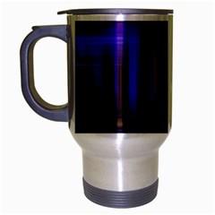 Background Texture Pattern Color Travel Mug (silver Gray) by Simbadda