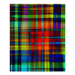 Abstract Color Background Form Shower Curtain 60  X 72  (medium)  by Simbadda