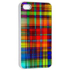 Abstract Color Background Form Apple Iphone 4/4s Seamless Case (white) by Simbadda
