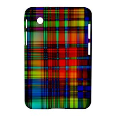 Abstract Color Background Form Samsung Galaxy Tab 2 (7 ) P3100 Hardshell Case  by Simbadda