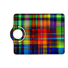 Abstract Color Background Form Kindle Fire Hd (2013) Flip 360 Case by Simbadda