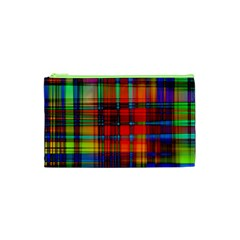 Abstract Color Background Form Cosmetic Bag (xs) by Simbadda