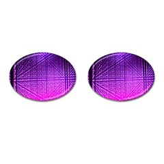 Pattern Light Color Structure Cufflinks (oval) by Simbadda