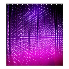 Pattern Light Color Structure Shower Curtain 66  X 72  (large)  by Simbadda