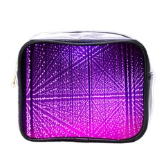 Pattern Light Color Structure Mini Toiletries Bags by Simbadda