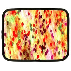Background Color Pattern Abstract Netbook Case (large) by Simbadda