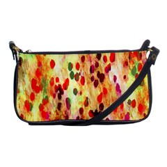 Background Color Pattern Abstract Shoulder Clutch Bags by Simbadda