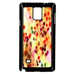 Background Color Pattern Abstract Samsung Galaxy Note 4 Case (black) by Simbadda