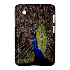 Multi Colored Peacock Samsung Galaxy Tab 2 (7 ) P3100 Hardshell Case  by Simbadda