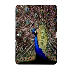 Multi Colored Peacock Samsung Galaxy Tab 2 (10 1 ) P5100 Hardshell Case  by Simbadda