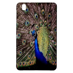Multi Colored Peacock Samsung Galaxy Tab Pro 8 4 Hardshell Case by Simbadda