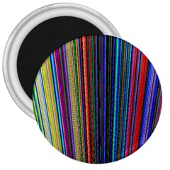 Multi Colored Lines 3  Magnets by Simbadda