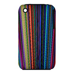 Multi Colored Lines Iphone 3s/3gs by Simbadda