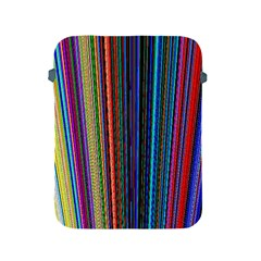 Multi Colored Lines Apple Ipad 2/3/4 Protective Soft Cases by Simbadda
