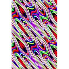 Multi Color Wave Abstract Pattern 5 5  X 8 5  Notebooks by Simbadda