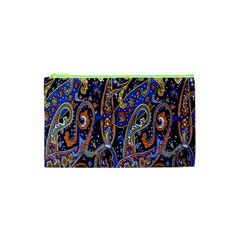 Pattern Color Design Texture Cosmetic Bag (xs)