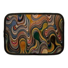 Swirl Colour Design Color Texture Netbook Case (medium)  by Simbadda