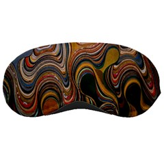 Swirl Colour Design Color Texture Sleeping Masks by Simbadda