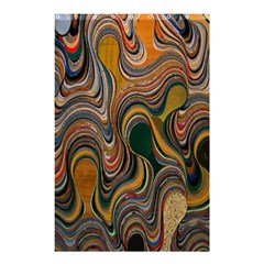 Swirl Colour Design Color Texture Shower Curtain 48  X 72  (small)  by Simbadda
