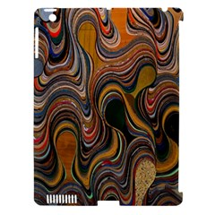 Swirl Colour Design Color Texture Apple Ipad 3/4 Hardshell Case (compatible With Smart Cover) by Simbadda