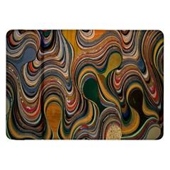 Swirl Colour Design Color Texture Samsung Galaxy Tab 8 9  P7300 Flip Case